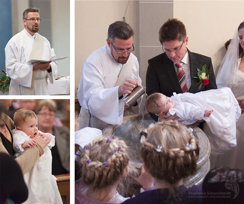 Fotos einer Taufe in der in der St. Martinus Kriche in Zons (Dormagen, Rhein-Kreis-Neuss, NRW)