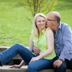 Paarfotos vom Engagement Shooting<br> Petra und Wolfgang (Reichenbach im Vogtland)
