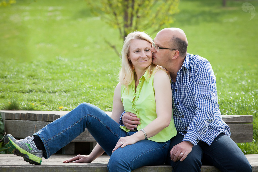 Authentic portrait of relaxed people in the countryside photographed during a portrait session in the Vogtland area, portrait session, portrait shoot, portrait photographer
