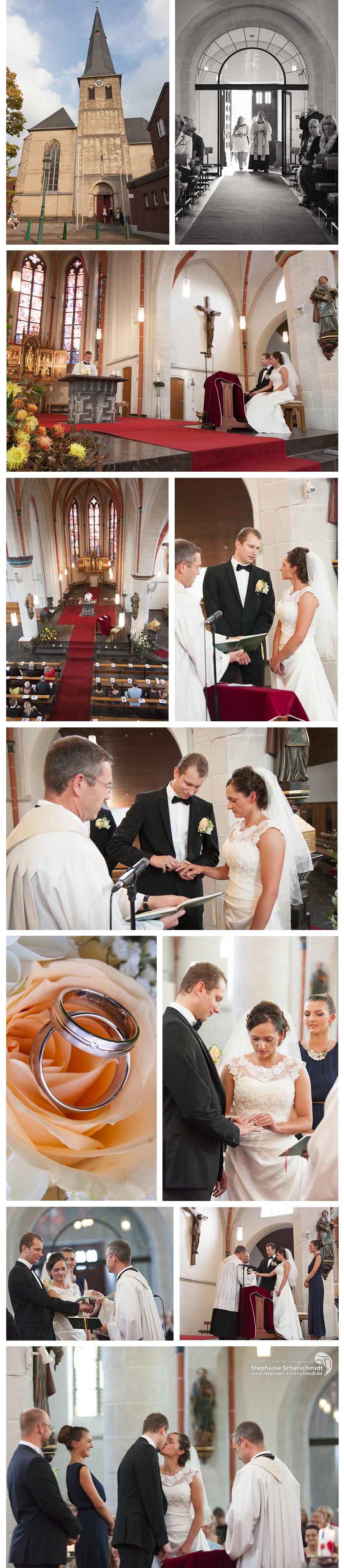 Hochzeitsfotograf Grefrath - Heiraten in der St Laurentius Kirche - Hochzeitsfotografin Stephanie Scharschmidt