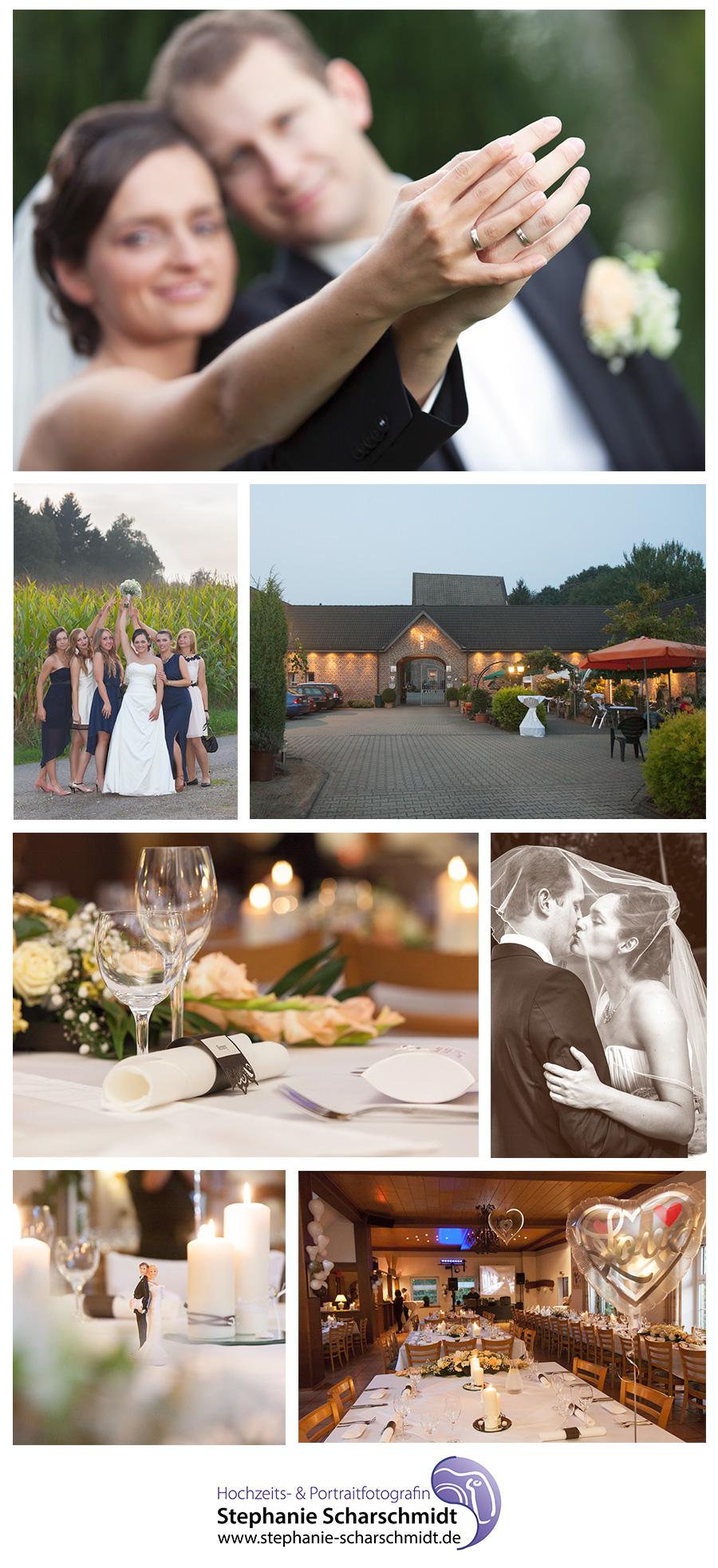 Hochzeitsfotograf Nettetal - Haus Milbeck in Lobberich - Hochzeitsfotografin Stephanie Scharschmidt