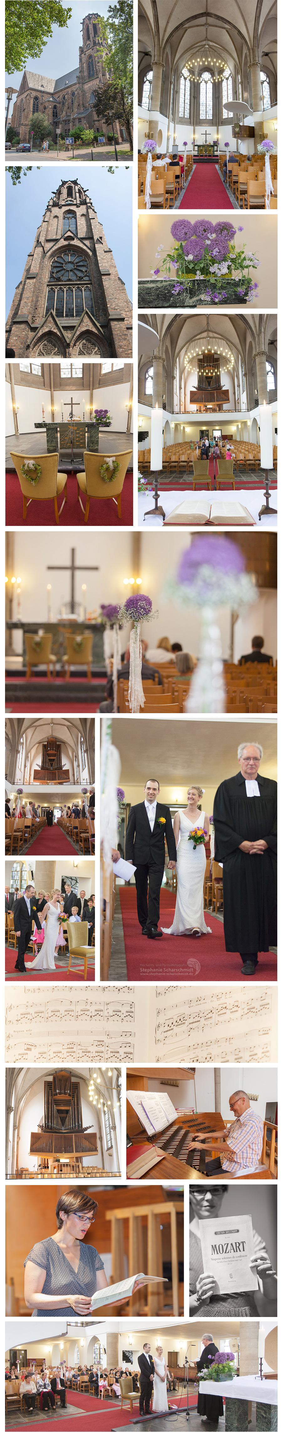 3 Hochzeitsfotograf in Krefeld – Kirchliche Trauung in der Friedenskirche in Krefeld Ulla und Carsten Teil 1 – Hochzeitsfotografin Stephanie Scharschmidt
