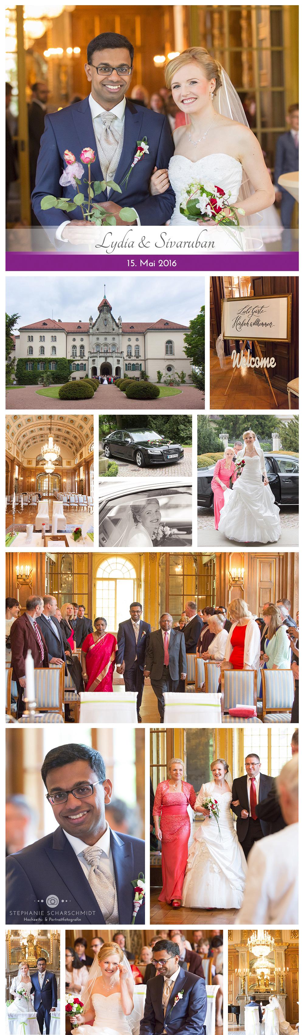 1 Schloss Waldenburg , internationale Hochzeit in Sachsen