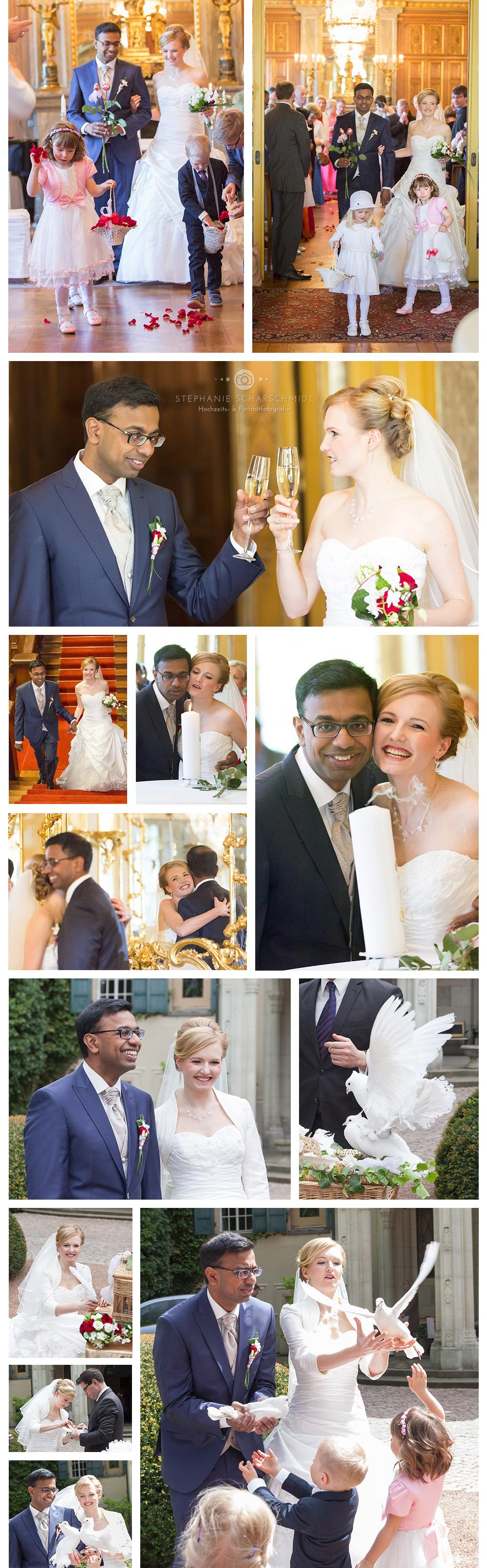 3 Schloss Waldenburg , mehrsprachige Hochzeit , internationale Hochzeit in Sachsen
