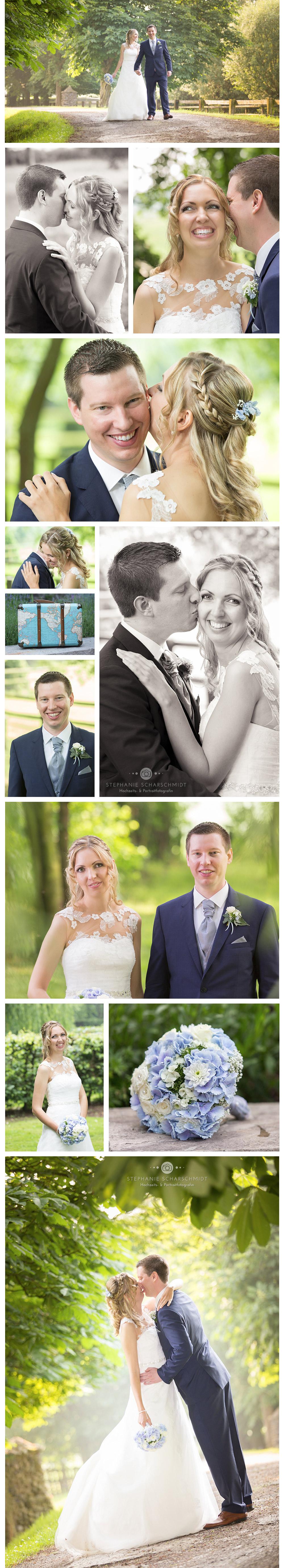 Brautpaarfotos Shouting einer ganztags Hochzeitsreportage