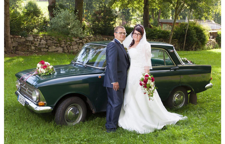 4 Hochzeitsauto – Hochzeitsfotograf Treuen