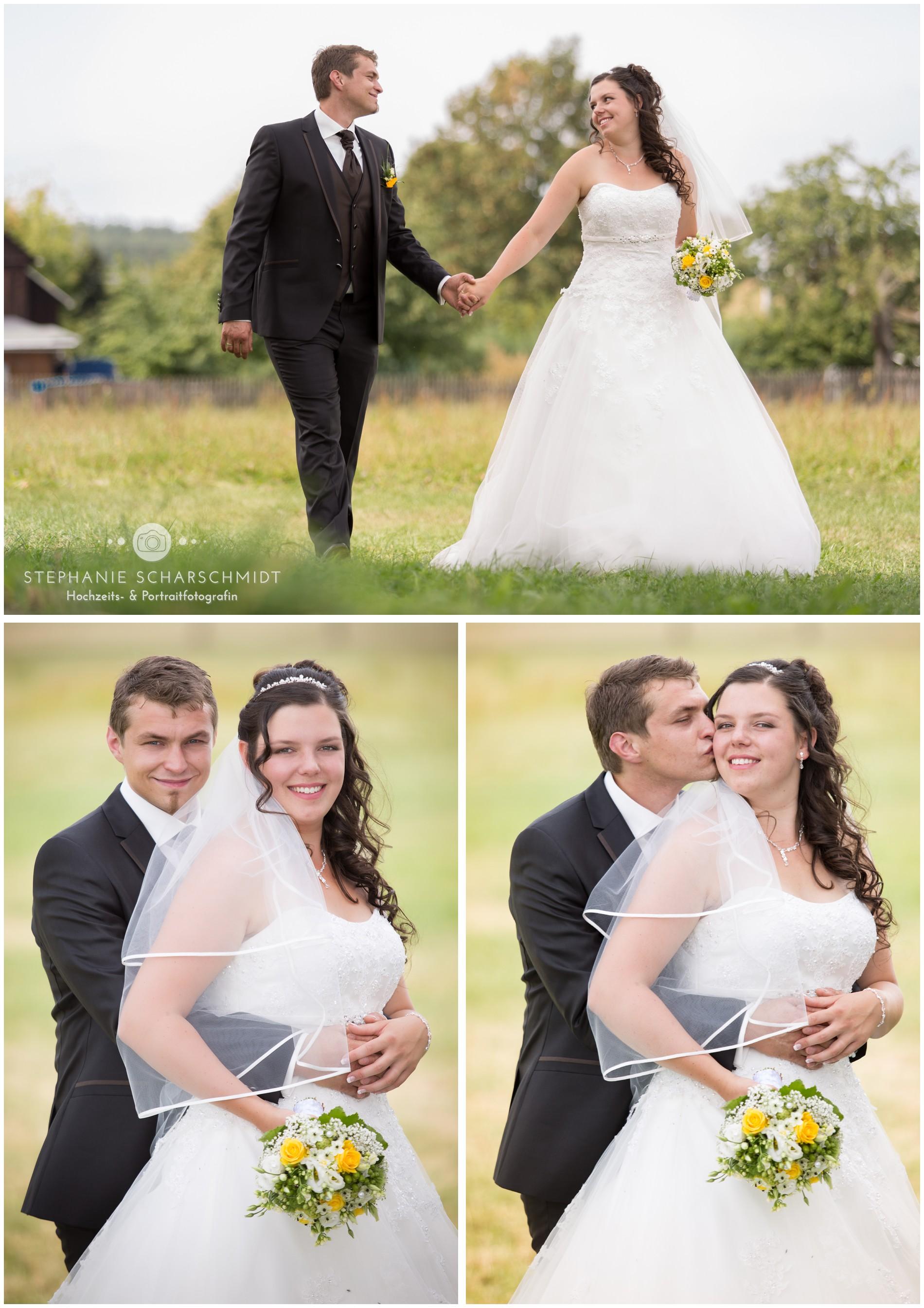 Als Hochzeitsfotograf in der Alten Wache in Greiz unterwegs ...