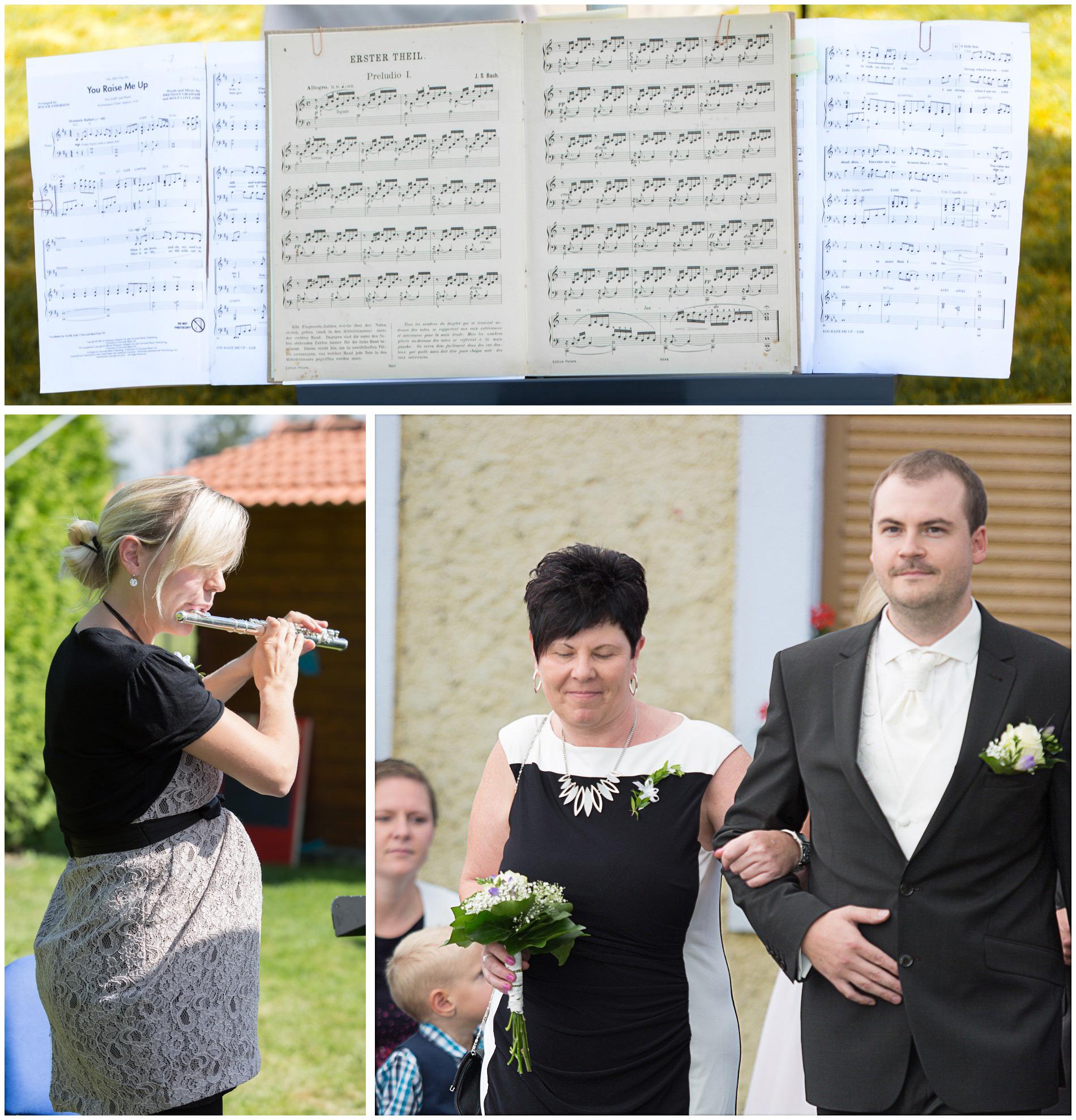 Hochzeitsmusik - einmarsch des Bräutigams