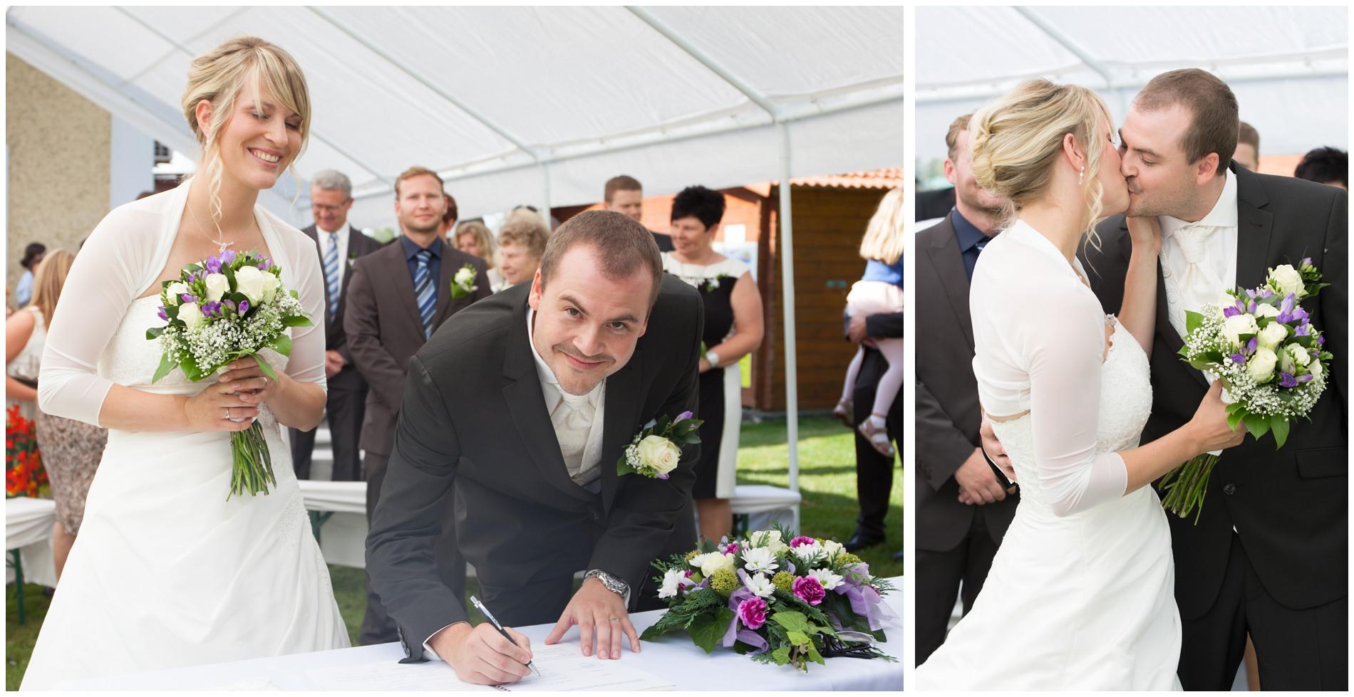 Internationale Hochzeit in Tschechien