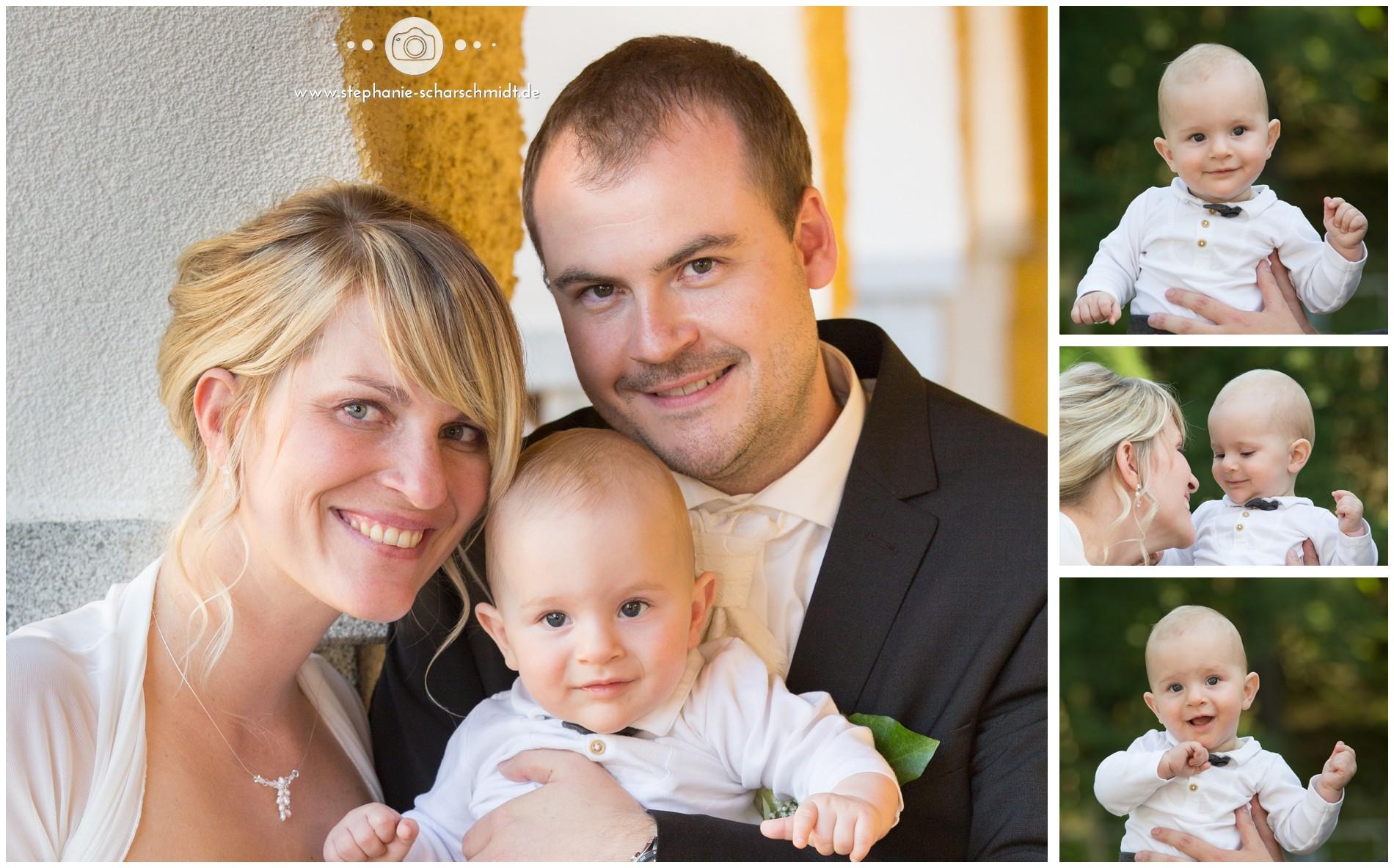 Kinderfotos auf internationale Hochzeiten
