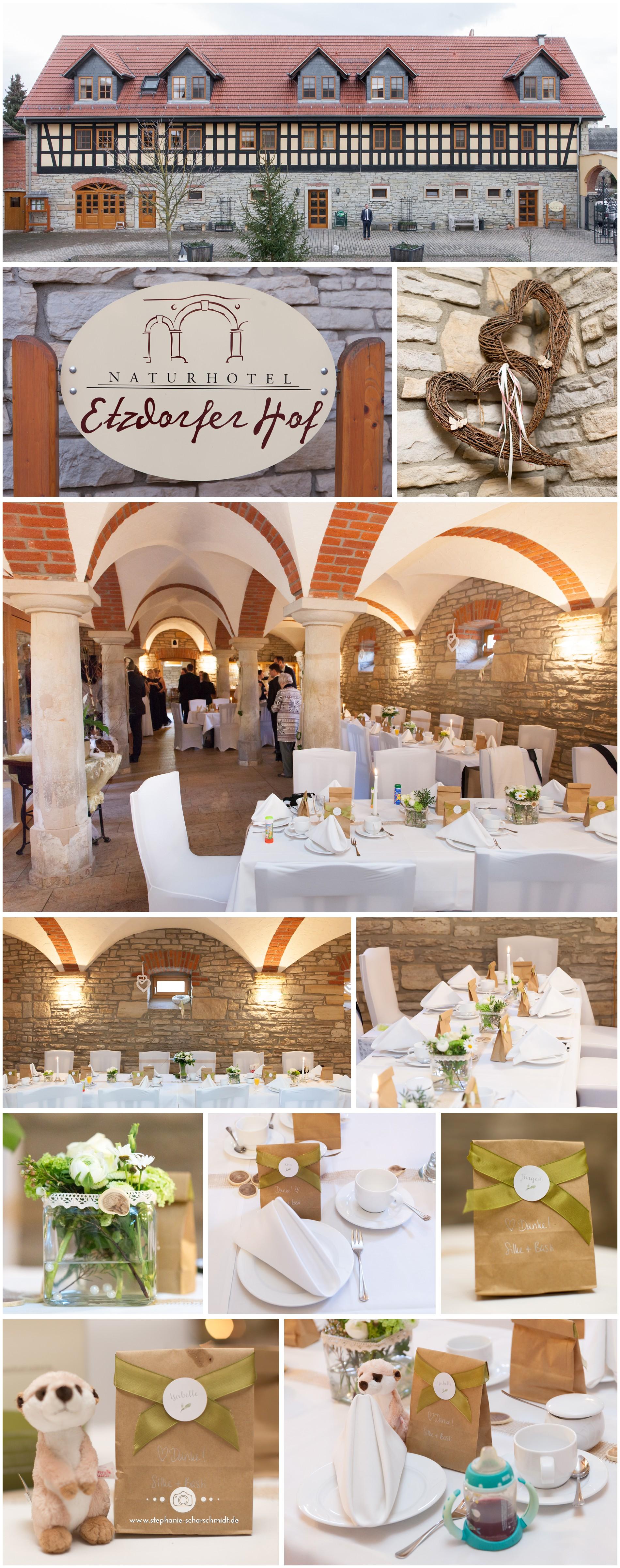 08 - Hochzeitsdekoration im Naturhotel Etzdorfer Hof nahe der Stadt Eisenberg im Saale-Holzland-Kreis-Thüringen - Hochzeitsfotografin Stephanie Scharschmidt