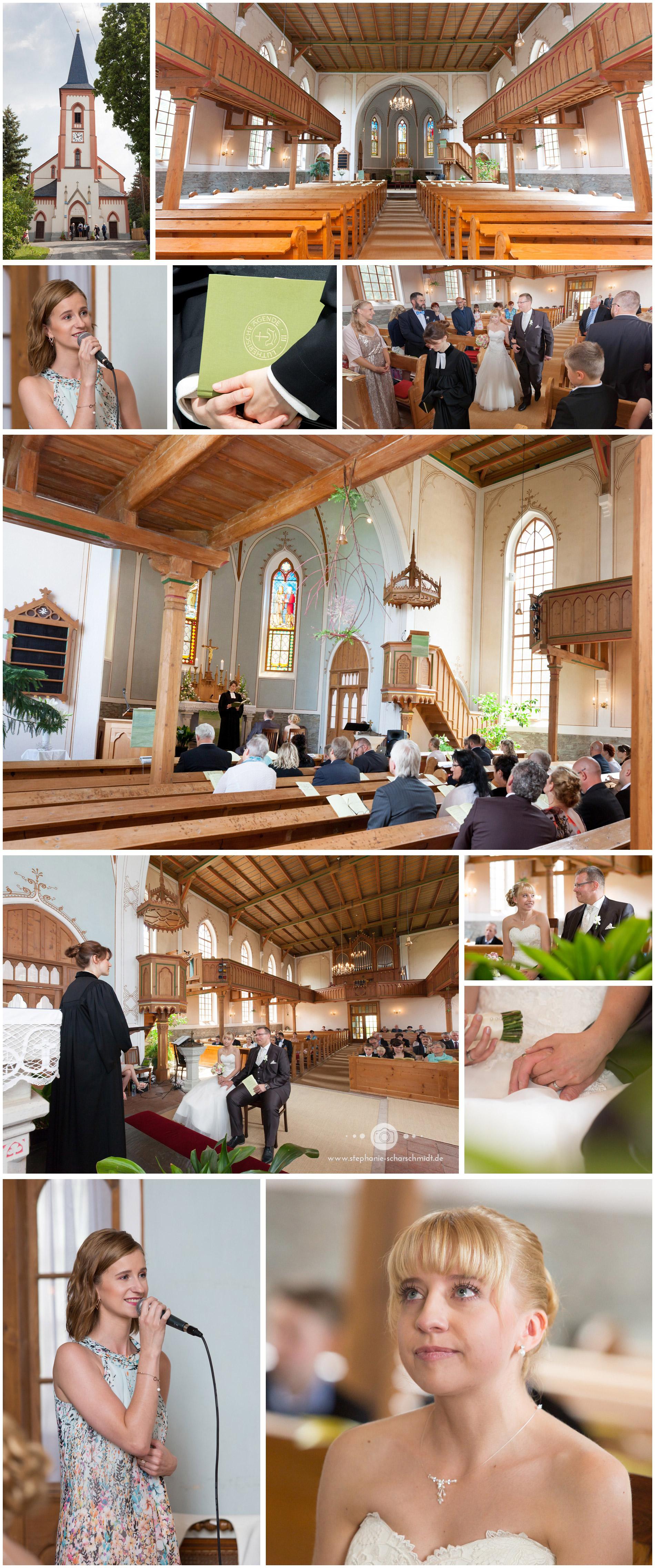 Gottesdienst Kirche Reinsdorf – Hochzeitsfotograf  Zwickau- Hochzeitsfotografen Stephanie Scharschmidt