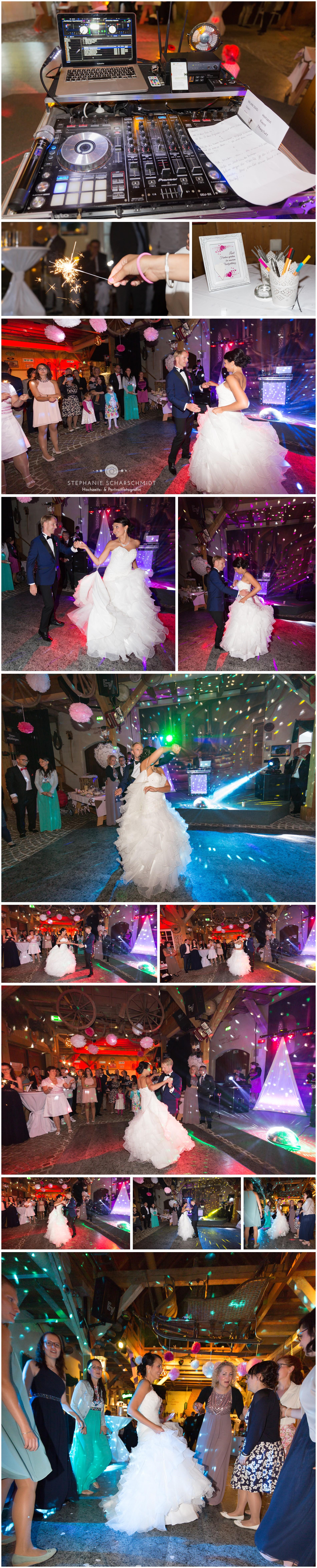 Hochzeitstantz auf Hochzeit Saustall Wernesgrün  - Hochzeitsfotograf Stephanie Scharschmidt