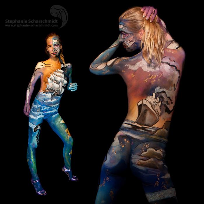image-16796-b: Maskerade Bodypainting