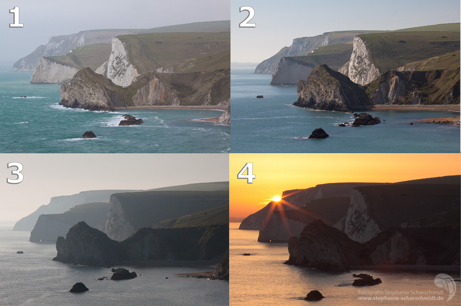 Jurassic Coast in different light