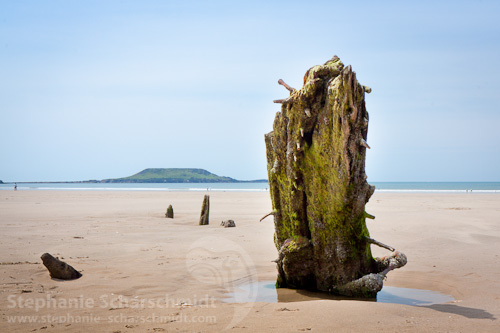 image-43710: The wreck of the Helvetia ( Rhossili Bay / Gower Peninsula – Wales / UK ) 4.7.2011 13:04