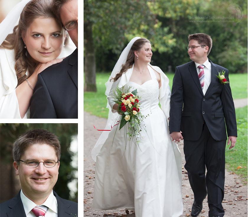 Natürliche Brautpaarfotos - Hochzeitsfotos Brautpaarfotos in Dormagen - Rhein-Kreis Neuss