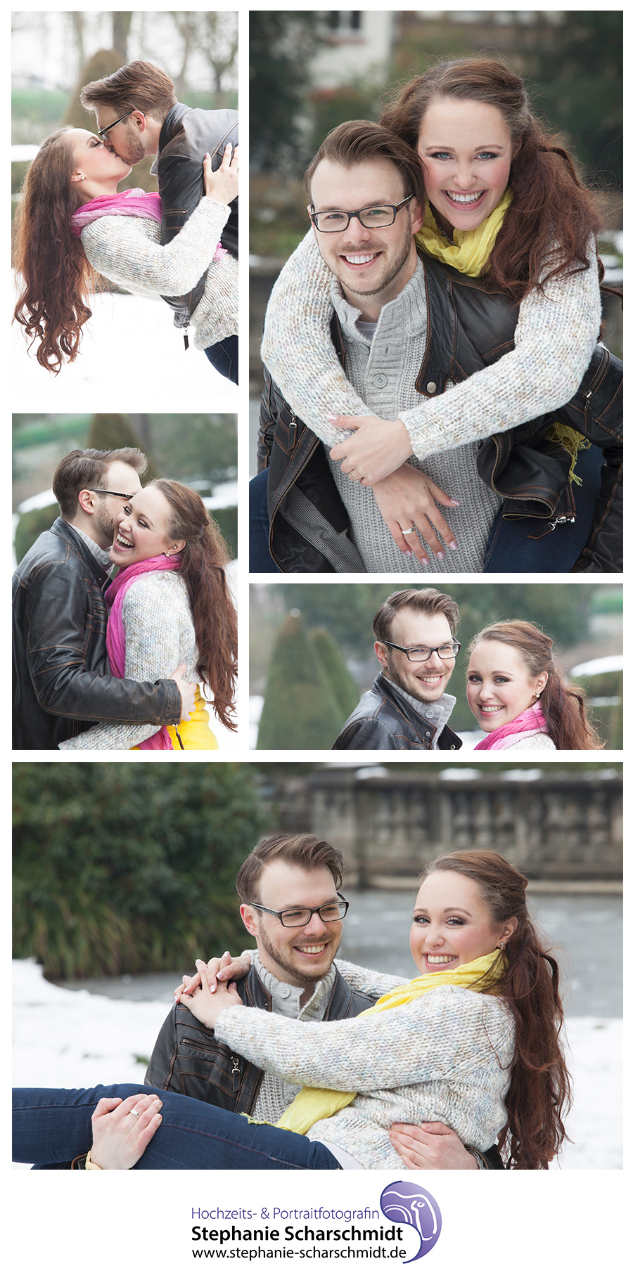 Paarfotos in Viersen (NRW) Svenja und Matthias 2015-01-25 (Stephanie Scharschmidt Portraitfotografin aus Viersen)