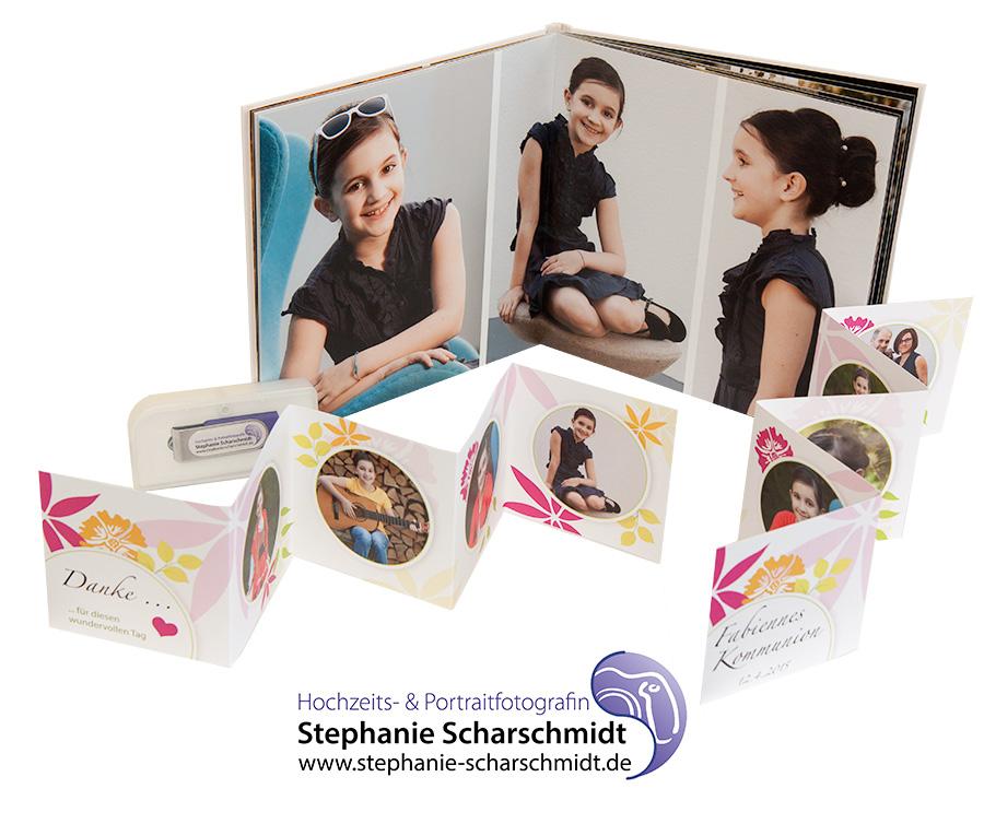 Fotogeschenke für Kommunion Gäste - Kinderportraits im Vogtland