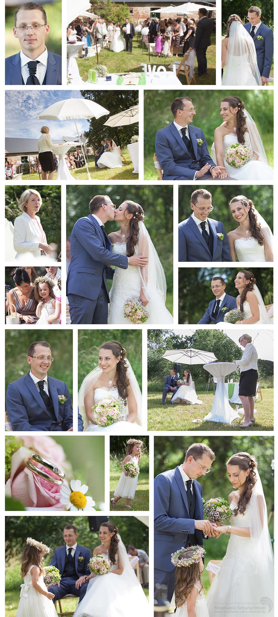 Trauung im Garten des Pfaffengutes in Plauen – Hochzeitsfotograf in Plauen im Vogtland – Hochzeits- und Portraitfotografin Stephanie Scharschmidt
