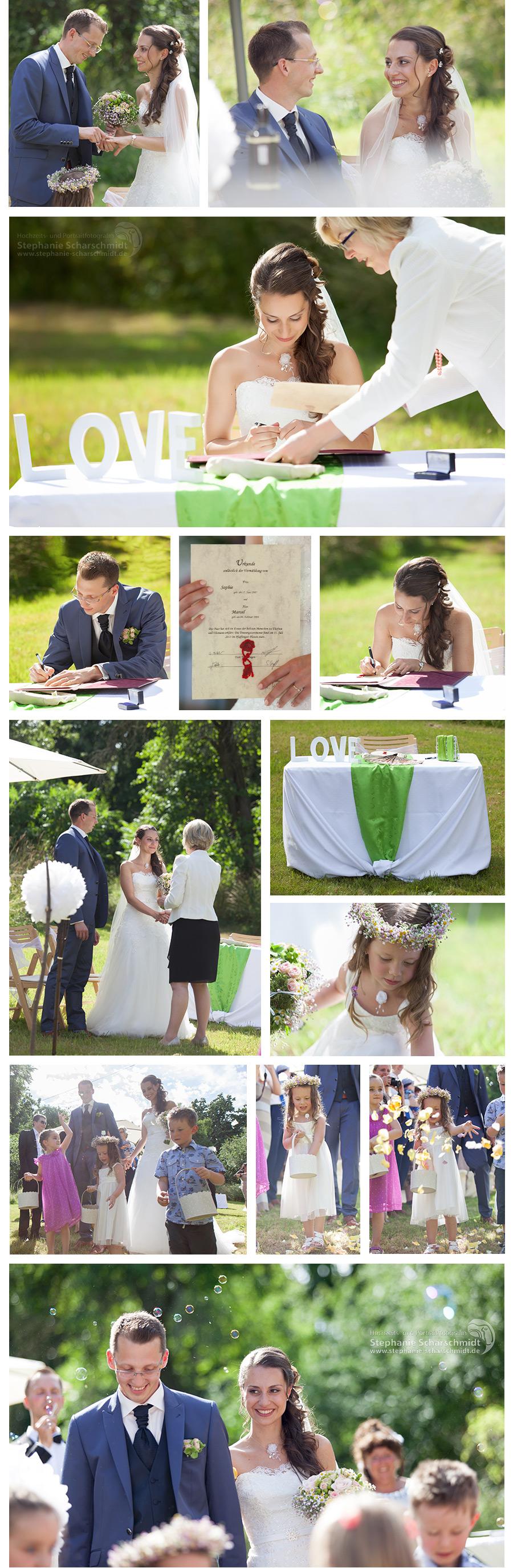 Freie Trauung - Frei Hochzeit - Pfaffengut Plauen - Feiern in Plauen – Brautpaar im Vogtland Hochzeits- und Portraitfotografin Stephanie Scharschmidt
