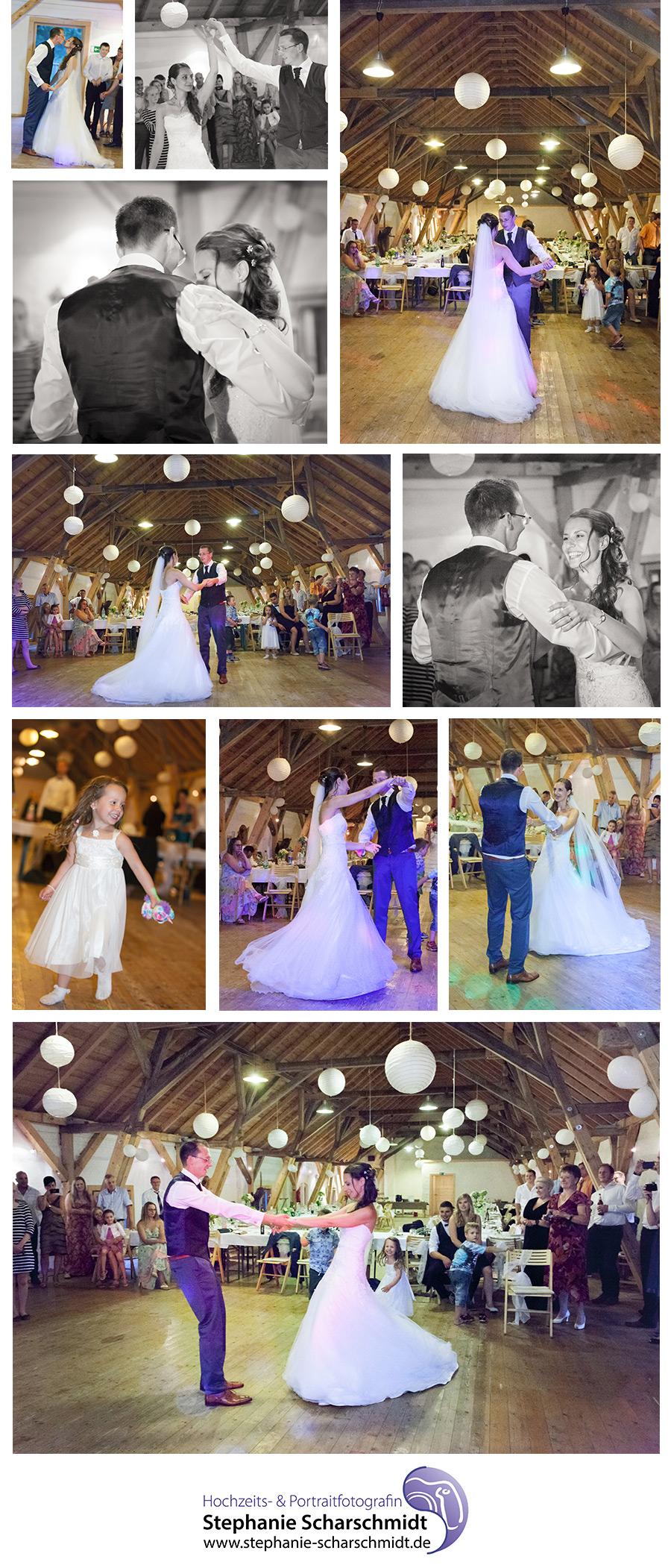 DJ in Plauen – Hochzeitsfotograf in Plauen – Erster Tanz bei Hochzeit im Pfaffengut in Plauen Hochzeits- und Portraitfotografin Stephanie Scharschmidt
