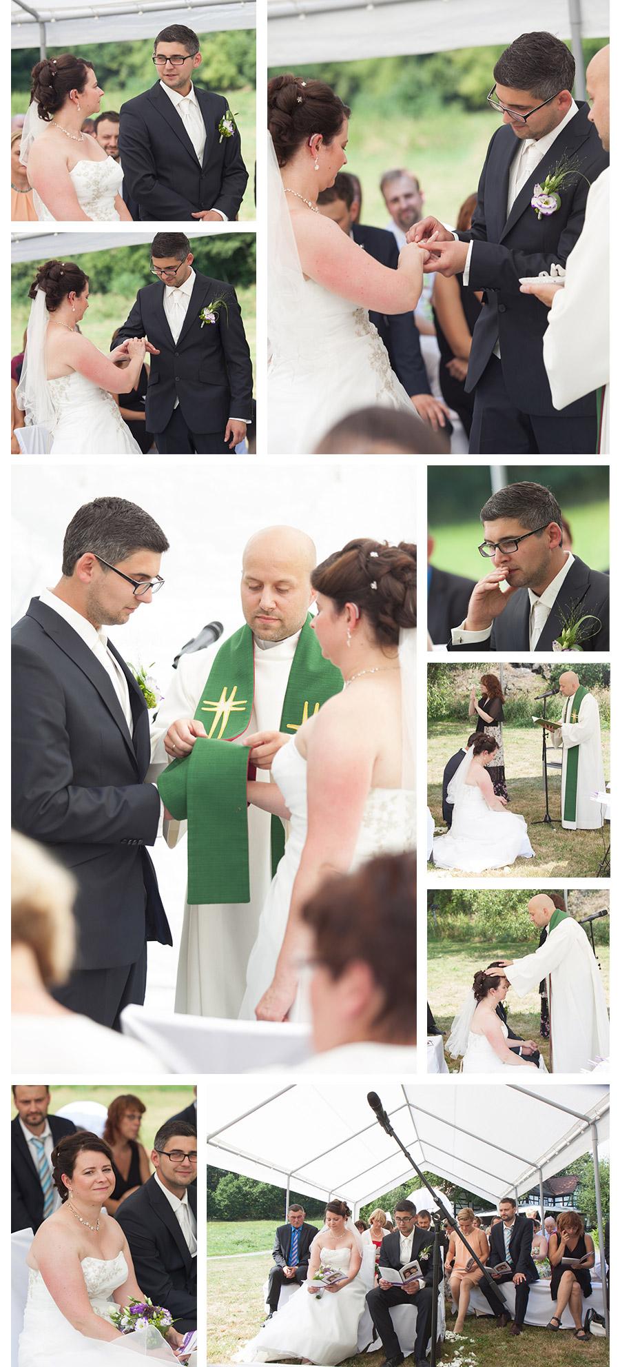 Hochzeit auf der Grünen Wiese - alternative Hochzeit in der Pension und Restaurant Lochbauer in Plauen – Stephanie Scharschmidt Hochzeitsfotograf Plauen