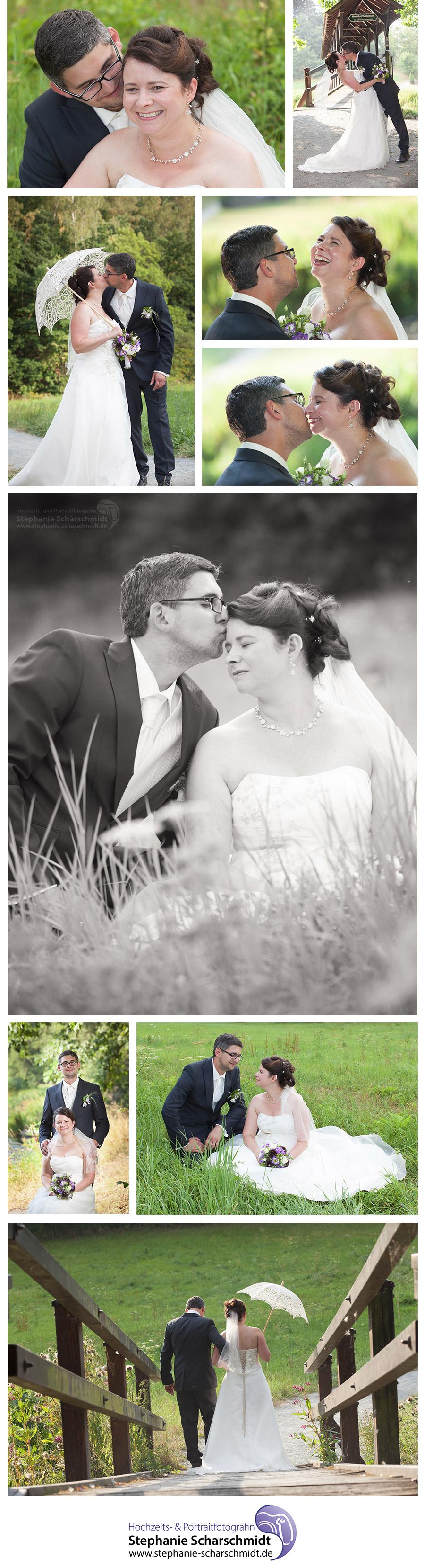 romantisches Hochzeitsfotos an der Pension und Restaurant Lochbauer in Plauen – Hochzeitsfotograf in Plauen
