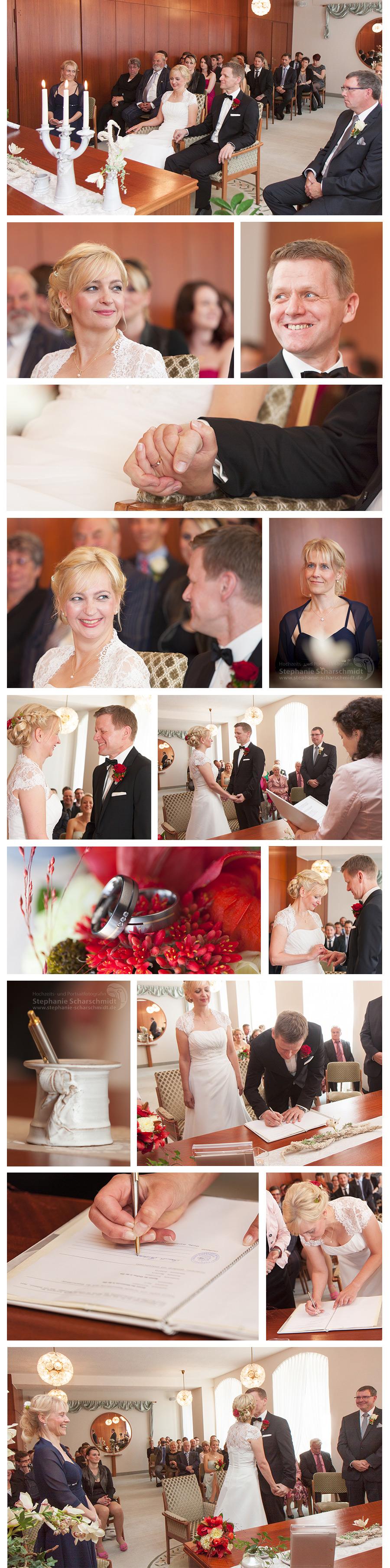 2. Standesamtliche Trauung im Rathaus Zeulenroda Triebes - Hochzeitsfotograf Bio-Seehotel Zeulenroda - Hochzeits- und Portraitfotografin Stephanie Scharschmidt - Hochzeitsfotograf Bio-Seehotel Zeulenroda –