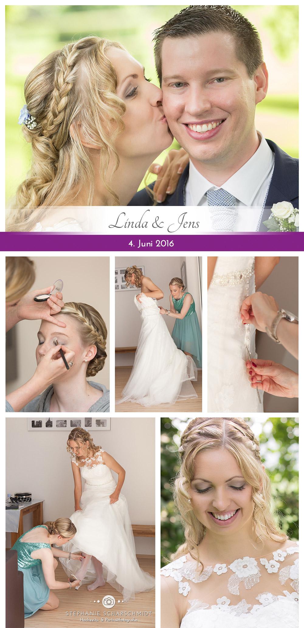 Getting ready – Vorbereitungen einer Braut am Hochzeitstag – ganztags Hochzeitsreportage