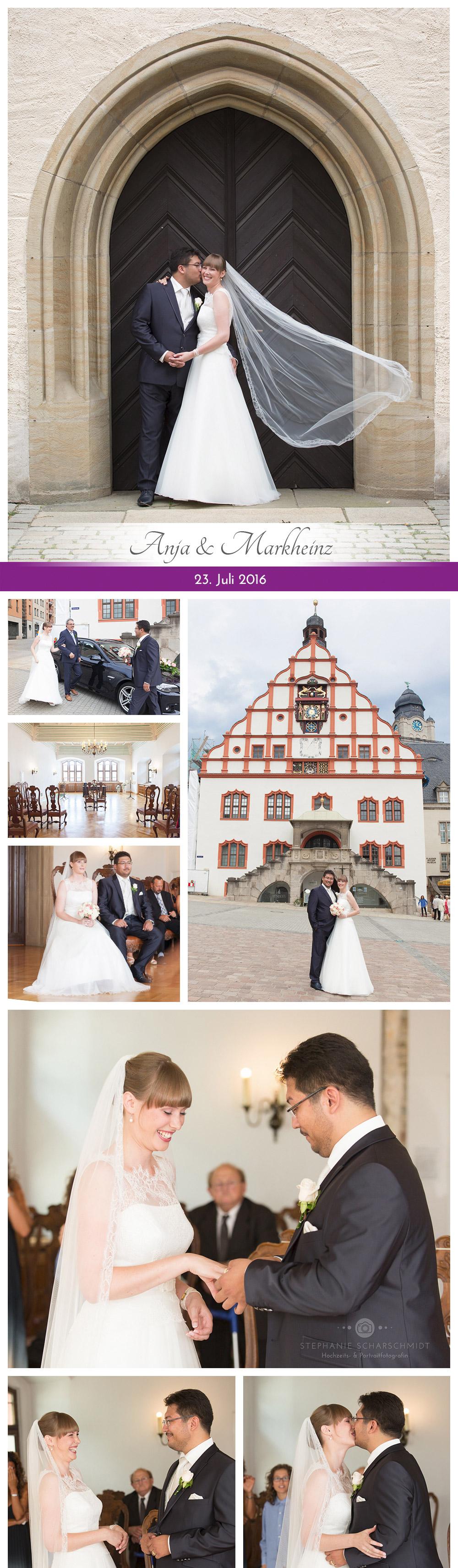 Standesamtliche Trauung Rathaus Plauen