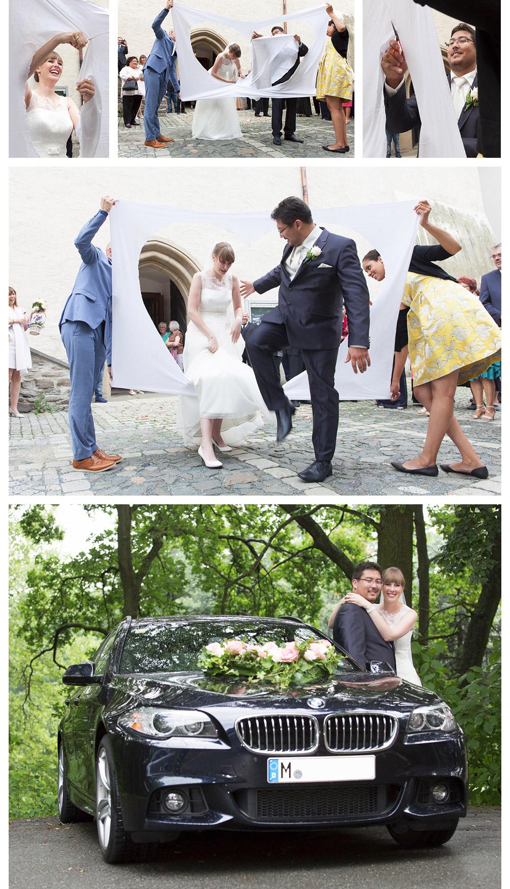 Hochzeitsauto mieten in Plauen