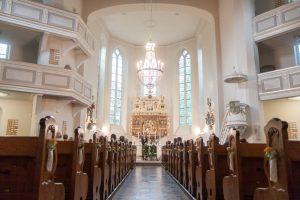 Trauung in der Lutherkirche in Plauen im Vogtland