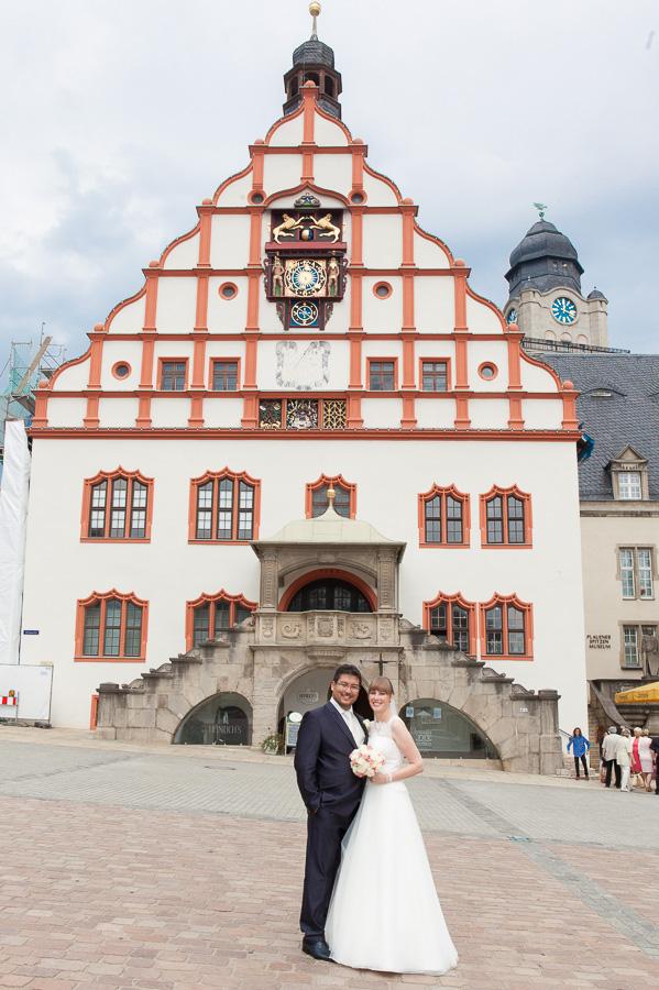 altes Rathaus in Plauen