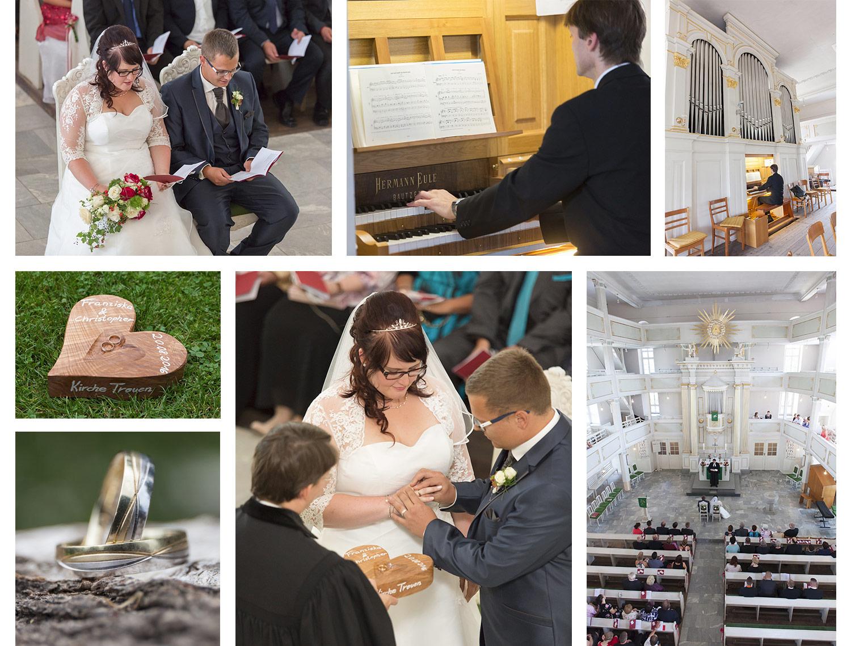 7 Kirchliche Trauung im Vogtland – Hochzeitsfotograf Treuen