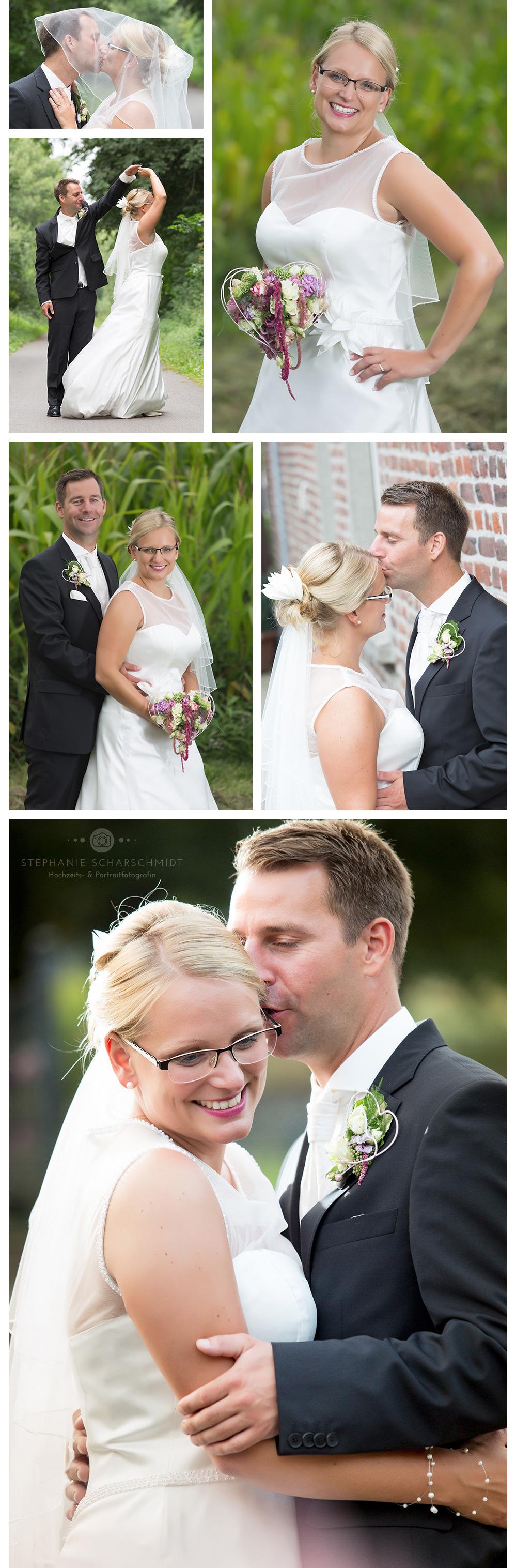 romantische Brautpaarfotos – Hochzeitsfotograf den ganzer Tag