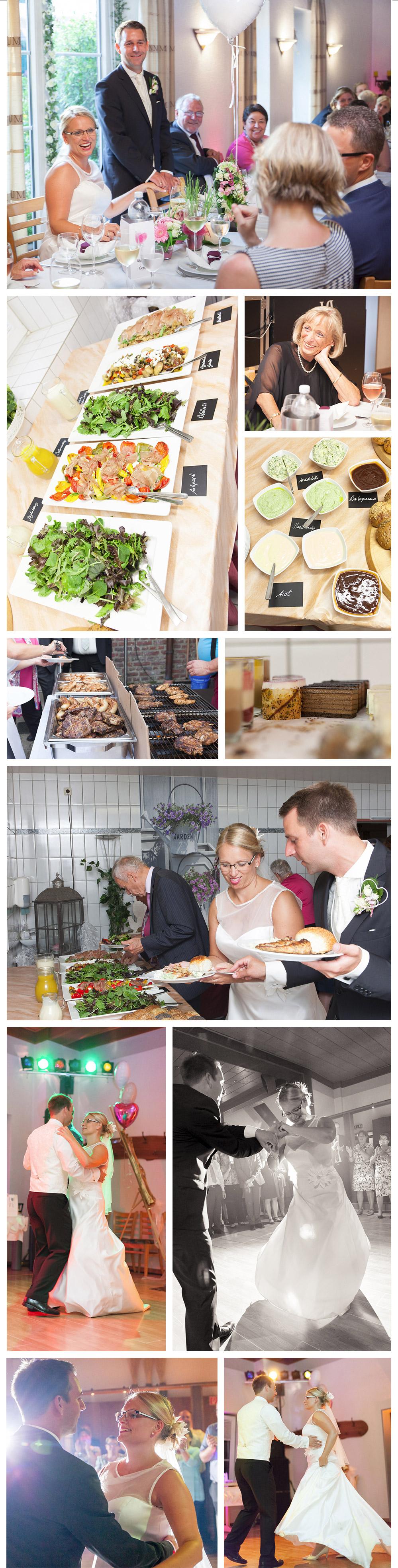 die Hochzeitsfeier – Ganztags-Hochzeitsreportage