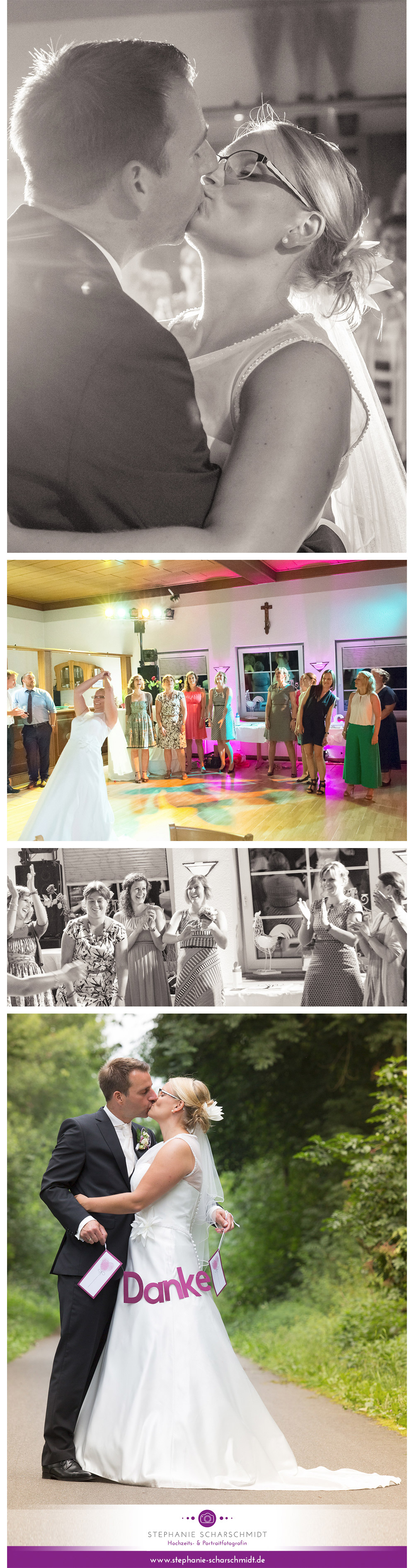 der Erste Tanz des Brautpaar – Hochzeit