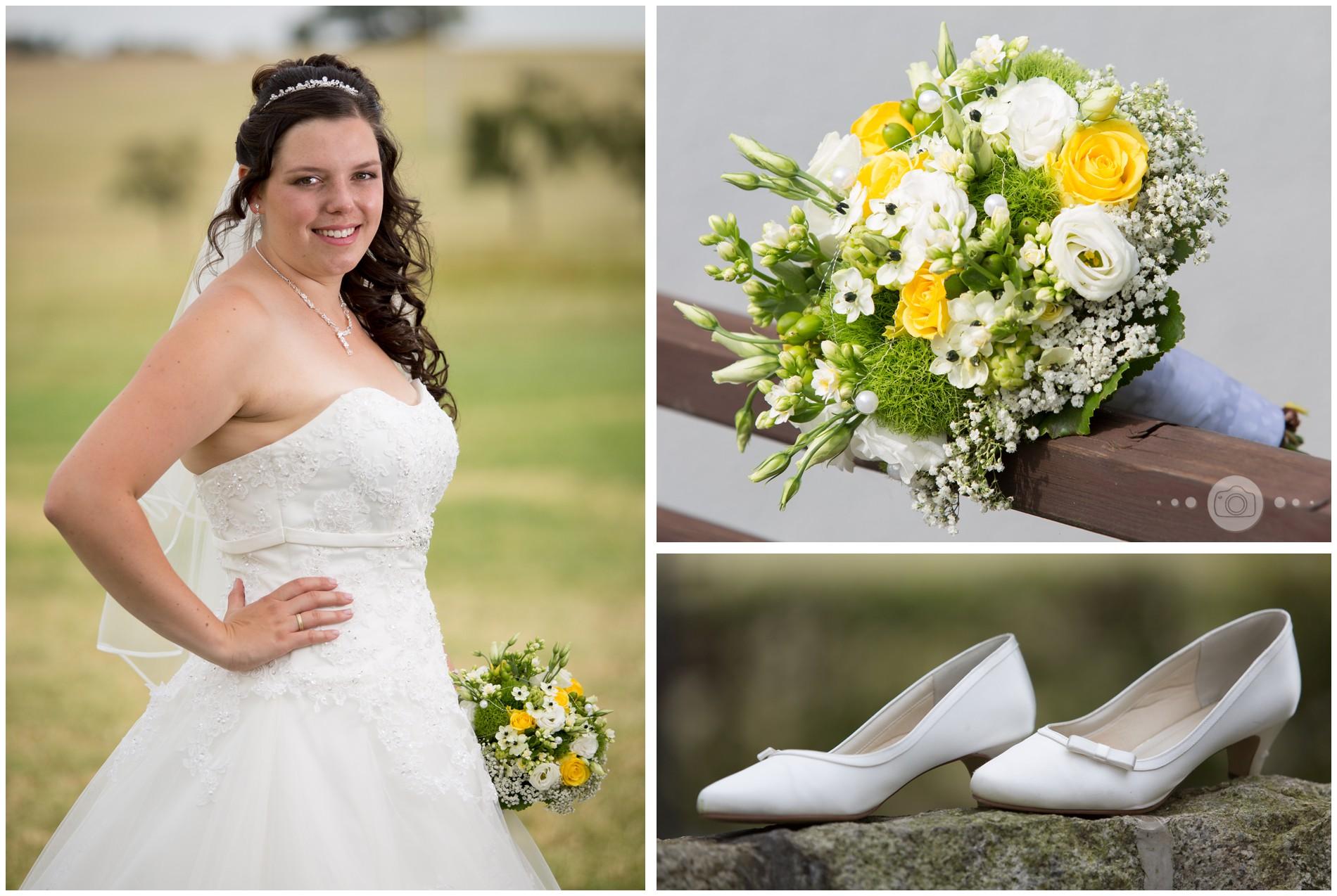 als Braut in Greiz – Hochzeit in Greiz
