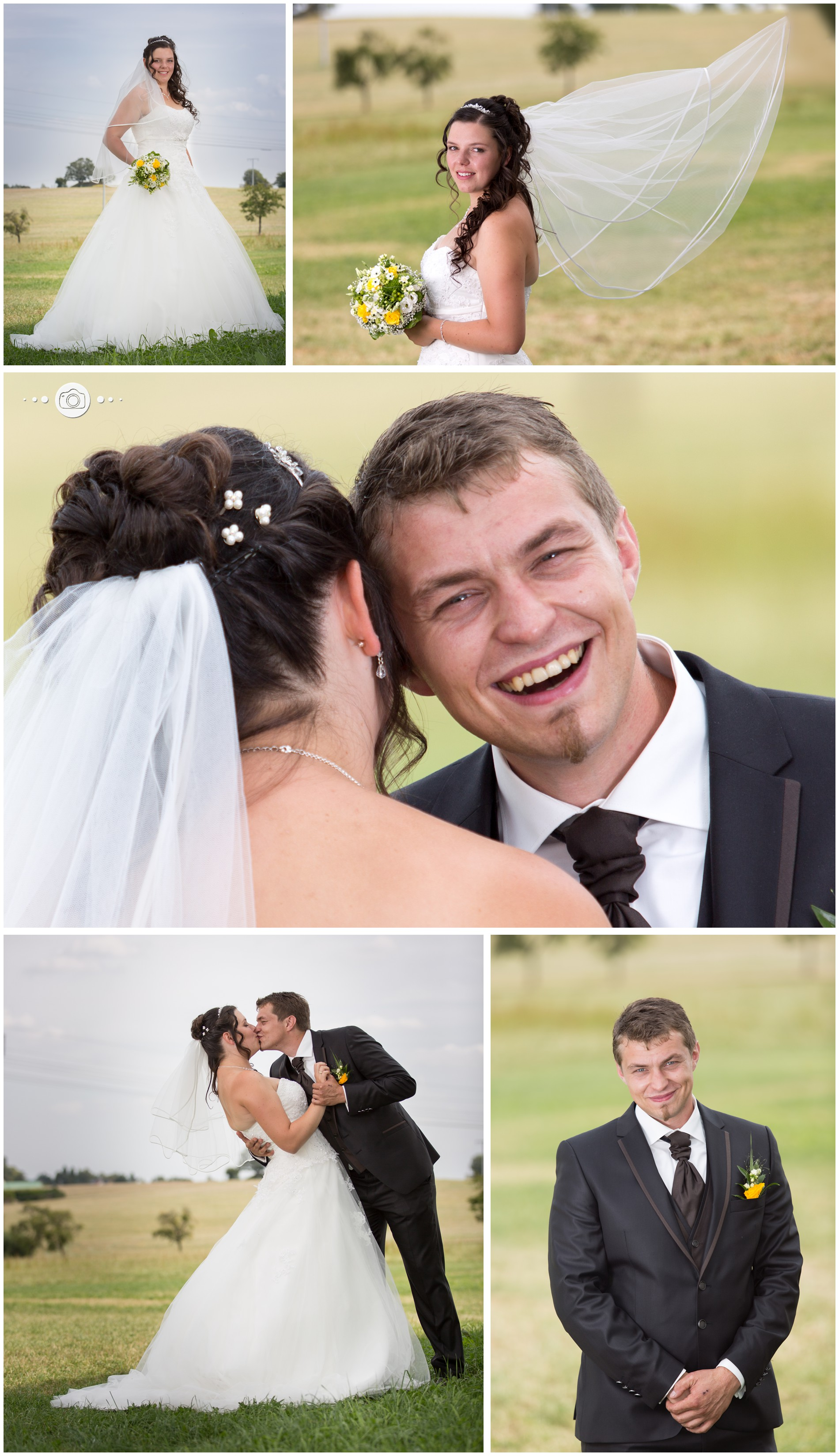 Brautpaarfotos im Lindenhof in Moschwitz bei Greiz im Vogtland Thüringen - Hochzeitsfotograf Landkreis Greiz