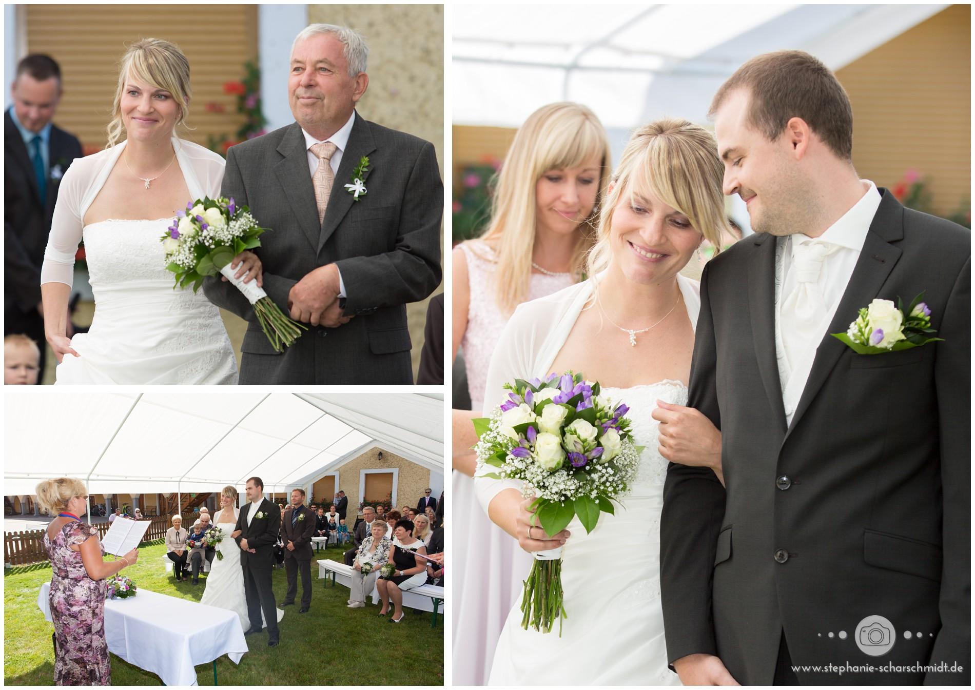 Internationale Hochzeit im Grenzgebiet zu Sachsen