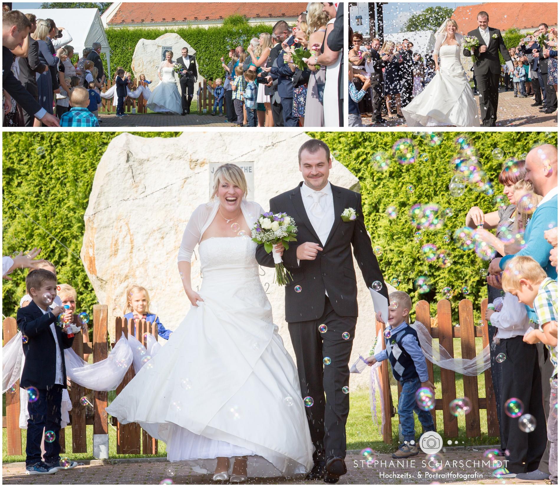 Auszug aus Freier Trauung von multikultureller Hochzeit