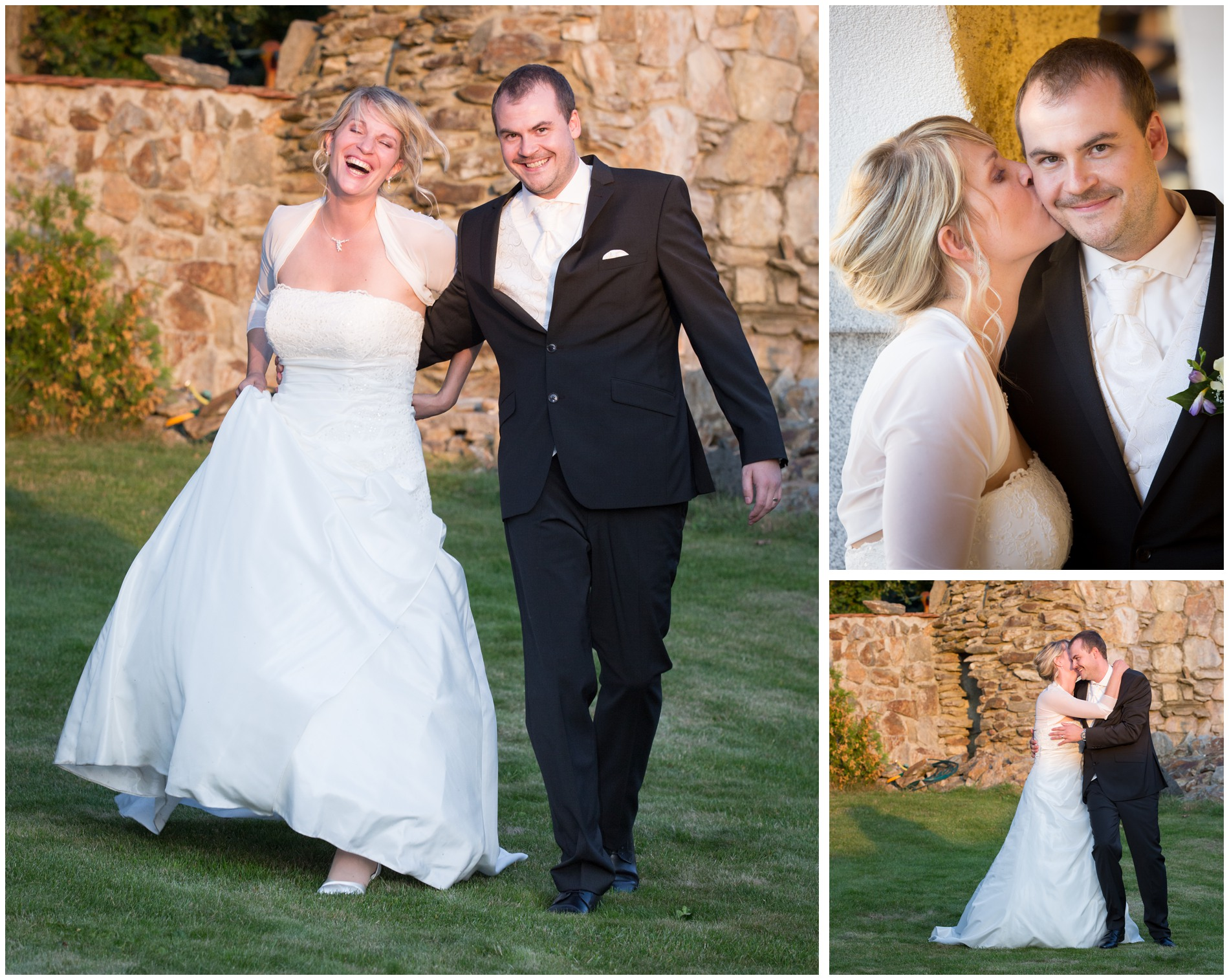 Brautpaarshooting englischsprachige Hochzeit in Tschechien