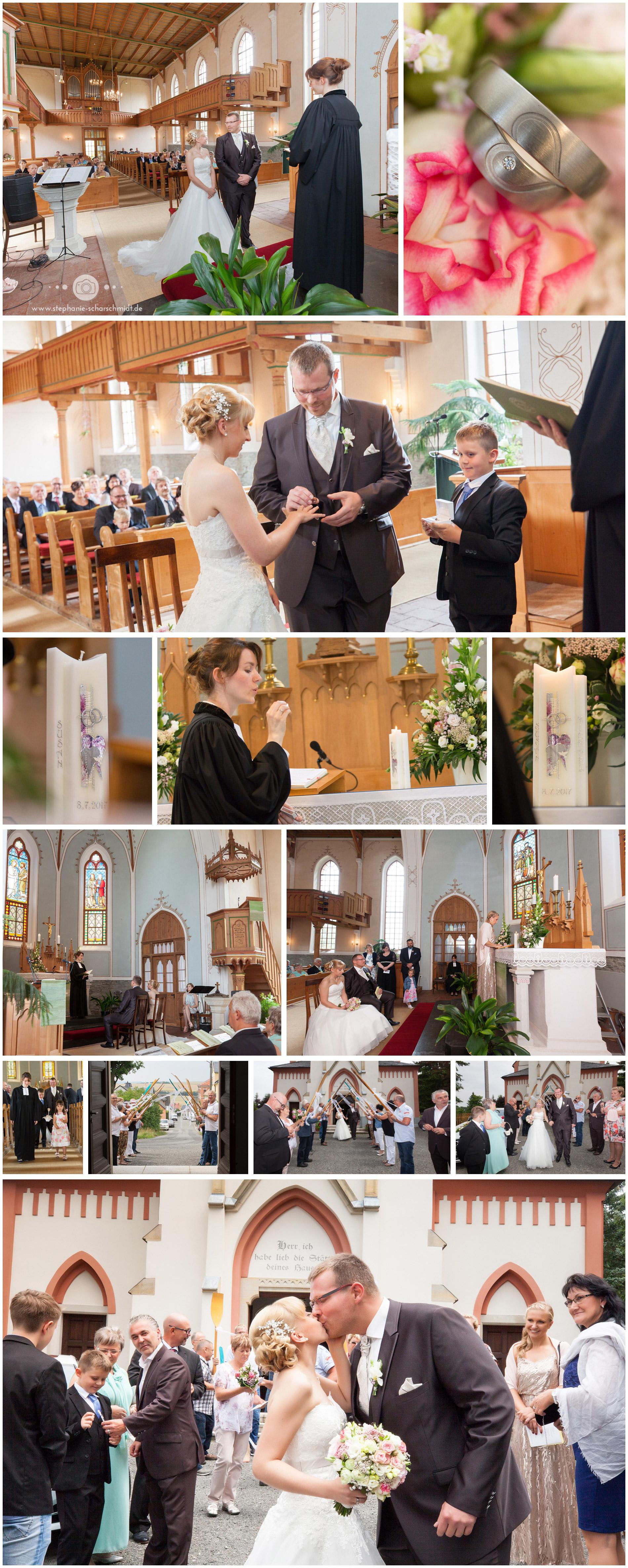 Hochzeit Evangelisch-Lutherische Kirchgemeinde St. Jakobus Reinsdorf – Fotograf Reinsdorf Stephanie Scharschmidt