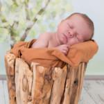 Newbornshooting bei Stephanie Scharschmidt <br>Neugeborenenfotos von Kuno (10 Tage)