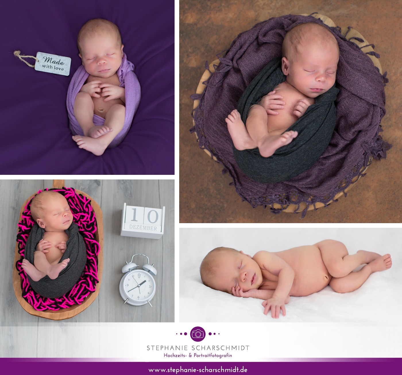 Neugeborenenfotograf Plauen – Stephanie Scharschmidt – babyfotografie im Vogtland