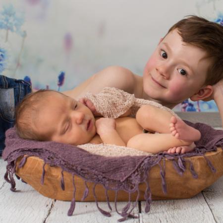 Neugeborenenfotos – Plauen - Portraitfotografin Stephanie Scharschmidt