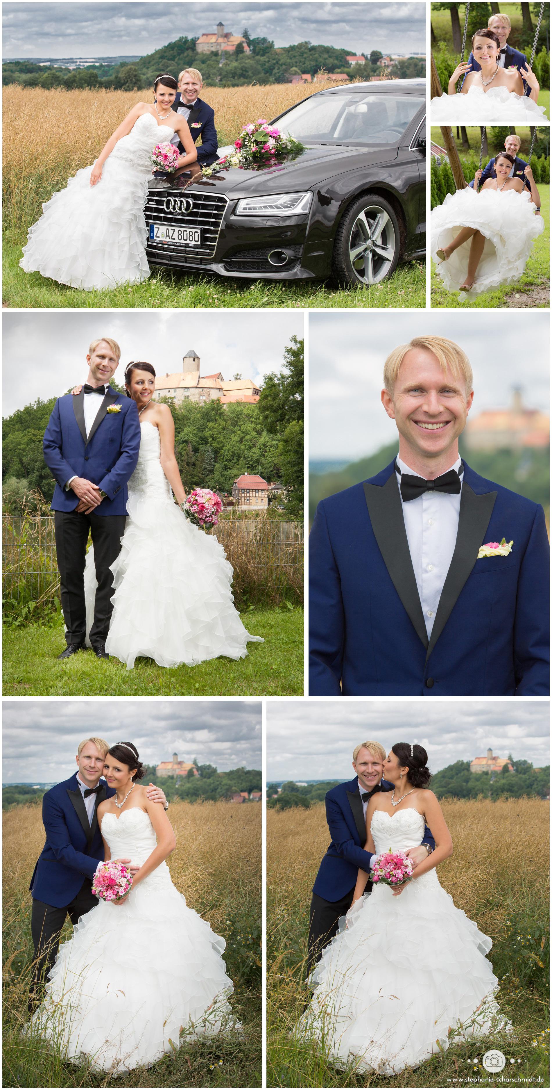 Hochzeitsfotos Burg Schönfels - Hochzeitsfotograf Stephanie Scharschmidt